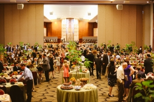 Jewish Bat Mitzvah held at a Houston hall
