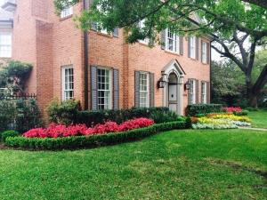 West University landscape maintenance