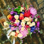 Roses, Peony, Stock, Hydrangea, Snap Dragons, Calla Lily and Dahlias by Glenwood Weber Design