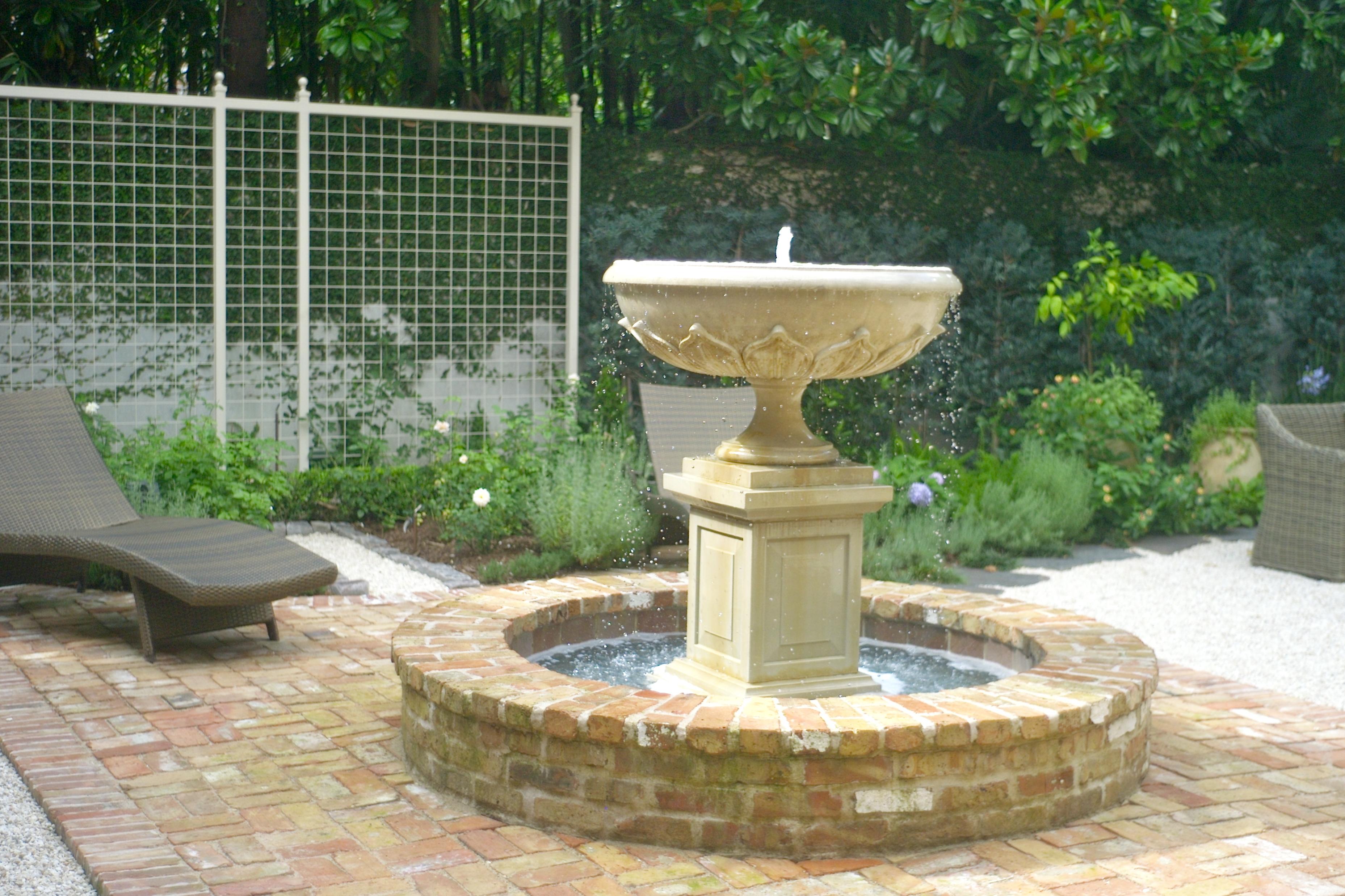 houston water fountain installs glenwood weber design houston tx