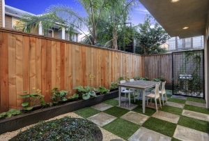 Enclosed Outdoor Patio Landscape Design
