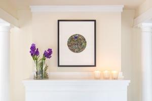Royal Purple Vanda Orchid Plant by Glenwood Weber Design