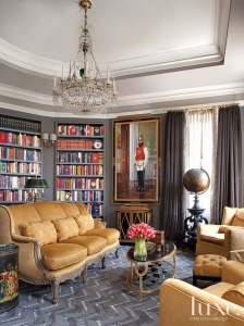 Tulips in Study by Glenwood Weber Design