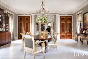 Large White Roses Arrangement by Glenwood Weber Design