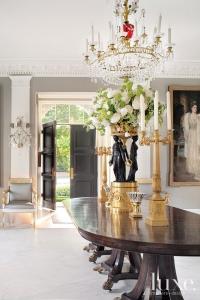 Large White Floral Arrangement by Glenwood Weber Design