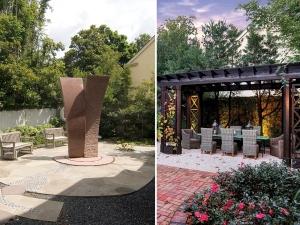 Houston Before & After Garden Landscape Renovation Design project