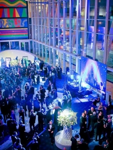 Arial View of the Cloud 9 Lounge Event