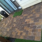 Artificial Side by Pavers
