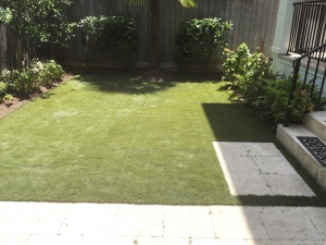 Artificial Sod Install for Backyard