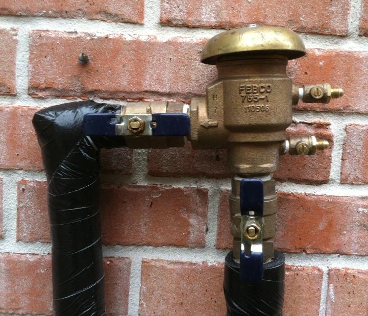 Irrigation Pressure Vacuum Breaker Valve (PVB)