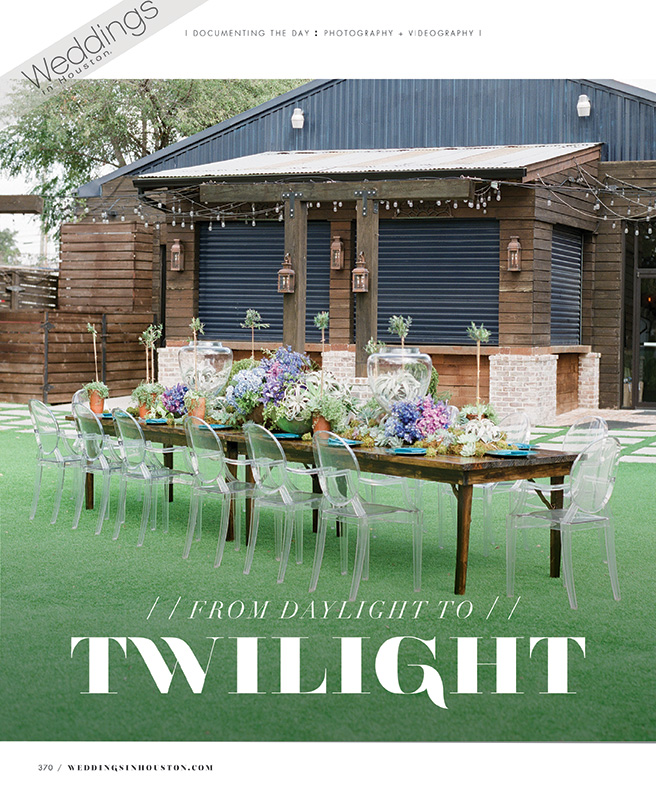 Weddings In Houston: From Daylight to Twilight