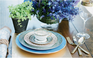 Tabletop, China Flatware and Stemware from Houston's Bering's